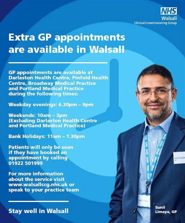 Walsall GP Extended Hours
